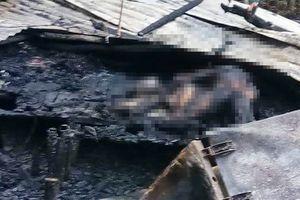 Hai mẹ con chết cháy trong căn nhà nghi do em rể đốt