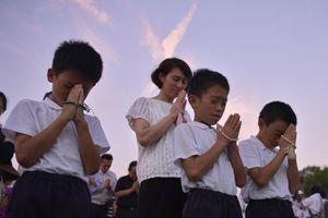 Hiroshima tưởng niệm 73 năm ngày quả bom nguyên tử 'Cậu bé' rơi xuống