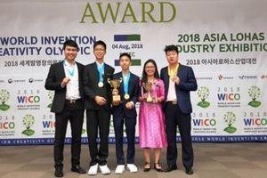Học sinh Việt Nam giành giải cao tại Olympic Phát minh và Sáng chế Thế giới