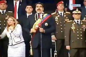 Venezuela công bố hình ảnh chiếc máy bay không người lái phát nổ khi ám sát Tổng thống Maduro