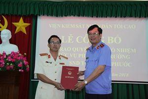 Bổ nhiệm Phó viện trưởng VKSND tỉnh Bình Phước
