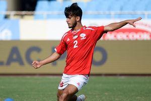 U23 Oman 1-1 U23 Palestine: Tiền vệ nhận thẻ đỏ ngay sau khi ghi bàn