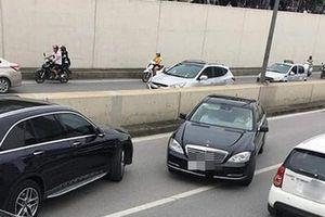 Nguyên nhân tài xế xe Mercedes biển 'ngũ quý 7' chạy ngược chiều ở hầm chui