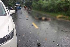 Va chạm với xe khách 16 chỗ, 2 người đi xe máy tử vong