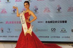 Miko Lan Trinh bất ngờ đăng quang Hoa hậu Tài năng tại Đài Loan