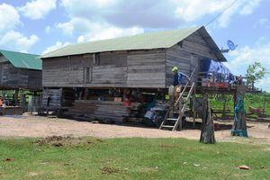 Gia Lai: Bất cập làng tái định cư vùng sạt lở sông Ba