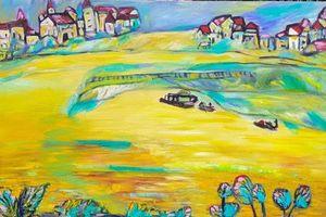 Triển lãm 'Bến Bạc' mang nghệ thuật đến gần hơn với công chúng
