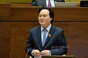 Bộ trưởng Phùng Xuân Nhạ xin lùi dự án Luật Giáo dục sửa đổi