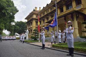 Lễ Thượng cờ kỷ niệm 51 năm Ngày thành lập ASEAN