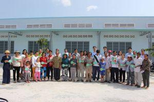 Habitat VN và Posco giúp 104 gia đình nghèo Bà Rịa-Vũng Tàu có nhà ở mới