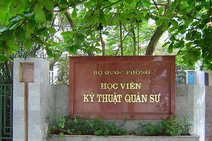 Thí sinh Sơn La đỗ học viện Kỹ thuật quân sự với số điểm cao nhất