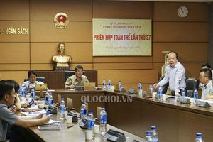 Ủy ban Tài chính- Ngân sách thẩm tra Tờ trình của Chính phủ về điều chuyển dự toán kinh phí