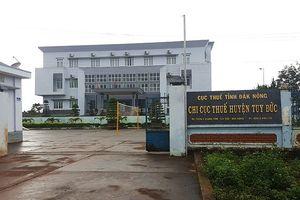 Kết luận chuyện 'mượn' 260 triệu đồng ở Chi cục thuế huyện Tuy Đức