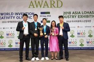 Học sinh Việt Nam giành 3 Huy chương Vàng và 1 Huy chương Bạc tại Olympic Phát minh và Sáng chế Thế giới