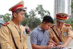 Đảm bảo hành lang an toàn giao thông trên Đại lộ Thăng Long