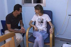Phu nhân tổng thống Assad bị ung thư vú