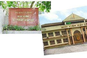 Thí sinh đến từ Sơn La, Hòa Bình đỗ thủ khoa trường quân sự