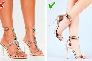Đây là lý do khiến đôi giày của bạn trông rẻ tiền