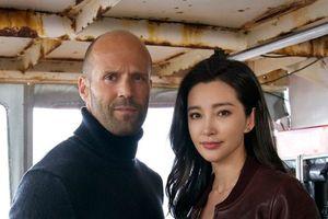 Lý Băng Băng nhạt nhòa trước Jason Statham trong 'Cá mập siêu bạo chúa'