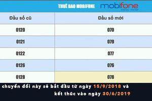 1000 thuê bao Mobifone chuyển đổi thành công về 10 số