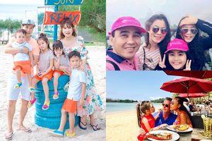 Cuối hè, gia đình Quyền Linh 'xuất ngoại', gia đình Lý Hải - Minh Hà đưa con đi nghỉ mát ở Bình Thuận