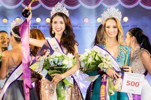Phan Thị Mơ đăng quang Hoa hậu Đại sứ Du lịch Thế giới 2018 ở tuổi 27