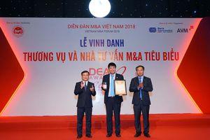 BVSC nhận cú đúp giải thưởng tại Diễn đàn M&A Việt Nam 2018