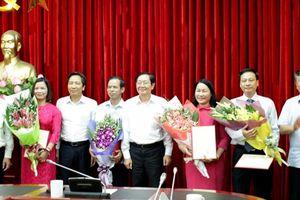 Trao quyết định bổ nhiệm nhân sự tại Bộ Nội vụ