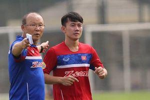 Minh Vương được thầy Park gọi lại Olympic Việt Nam