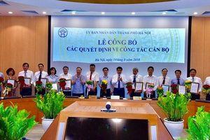 Hà Nội bổ nhiệm và bổ nhiệm lại 17 lãnh đạo Sở, ngành