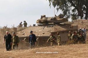 'Quái thú' Namer nâng cấp áp sát Syria trong tình hình nóng