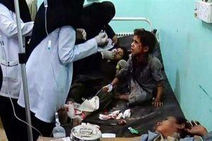 Arabia Saudi bị tố nã tên lửa vào hàng chục trẻ em