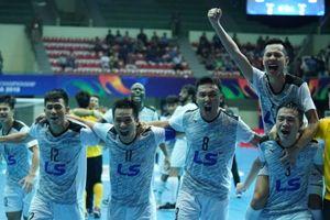 Thái Sơn Nam lập kỳ công, giành quyền vào chung kết futsal châu Á