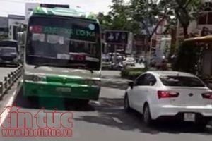 TP Hồ Chí Minh: Đình chỉ công tác lái xe buýt chạy ngược chiều