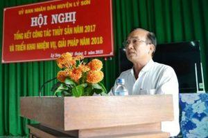 Quảng Ngãi: Phê bình Chủ tịch UBND huyện Lý Sơn chưa nghiêm túc thực hiện Kết luận thanh tra
