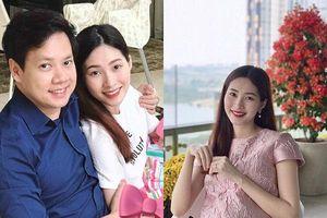 Mới 5 tháng tuổi, con gái Hoa hậu Đặng Thu Thảo đã được bố mẹ sắm xe hiệu hàng chục triệu