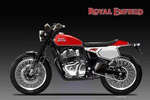 Ngắm phác thảo Royal Enfield Fury 650 'Flat Tracker'