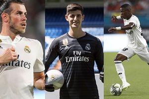 Thibaut Courtois và đội hình mạnh nhất của Real ở mùa giải 2018/2019