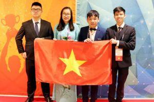 Học sinh Việt Nam giành 3 huy chương tại cuộc thi về tin học thế giới