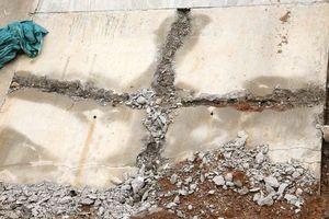 Nước ngầm đẩy gãy kênh bê tông ở dự án thủy lợi ngàn tỉ?