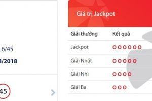 Xổ số Vietlott: Jackpot 'nổ', xuất hiện chủ nhân mới của giải thưởng hơn 31 tỷ đồng
