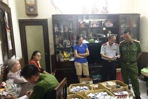 Hải Phòng: Niêm phong hơn 2.000 gói thuốc chữa bệnh tiểu đường Bà Đại