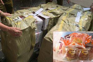 Kiểm tra hoạt động sản xuất và kinh doanh bánh Trung thu nhập khẩu