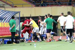 SỐC: U23 Malaysia hỗn chiến với UAE trước thềm đại hội ASIAD 2018