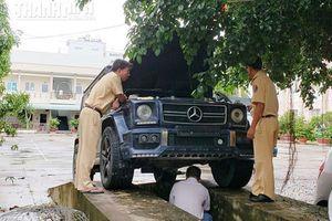 Đã xác minh được nguồn gốc xe Mercedes-Benz G55 AMG mang biển số quân đội