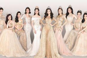 14 Hoa hậu Việt Nam lần đầu cùng hội ngộ, khoe nhan sắc rạng rỡ