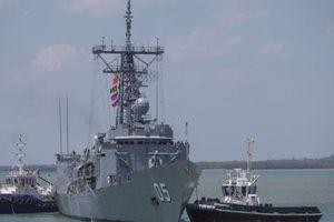 Australia bất ngờ tung tàu khu trục tới Hoa Đông 'răn đe' Triều Tiên