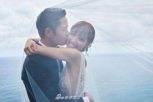 Hoa hậu 9X Hong Kong và chồng tuổi U50 tung ảnh cưới trước hôn lễ