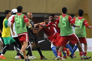AFC sẽ xử phạt nặng trận đấu 'côn đồ' trước ASIAD 2018