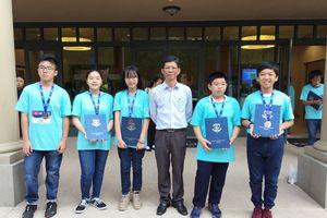 Việt Nam đoạt 1 HCB và 4 HCĐ tại cuộc thi toán học WMO 2018 Mỹ